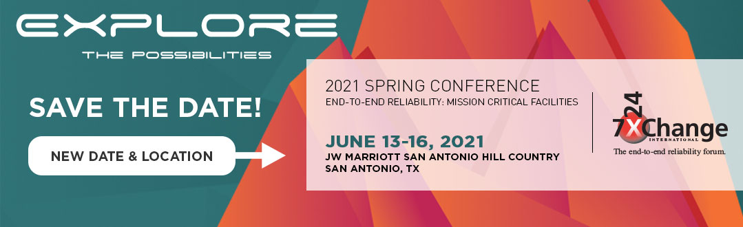 7x24 Exchange 2021 Spring Conference | Save the Date | June 13-16, 2021