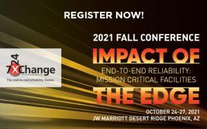 7x24 Exchange 2021 Fall Conference @ JW Marriott Desert Ridge
